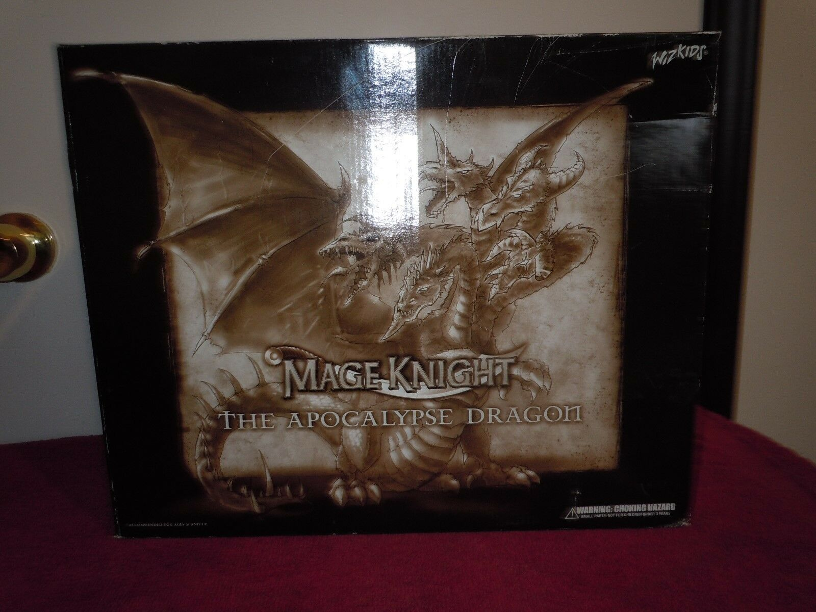 2005 Mage Knight Apocalipsis Dragon Menta en caja Convención Exclusiva