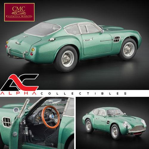 CMC M-132 1 18 1961 Aston Martin Db4 Gt Zagato Modelo Diecast Car