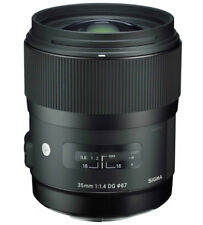 Sigma 35mm/1,4 DG HSM Art Weitwinkel Objektiv für Nikon