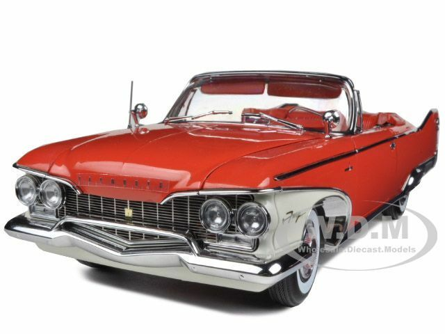 1960 PLYMOUTH FURY OPEN CONVERTIBLE VALIANT rosso 1/18 BY SUNSTAR 5402