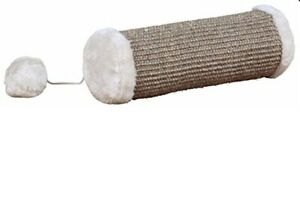 Natural-Sisal-Cat-Playing-Roll-With-Plush-Choice-Of-Sizes