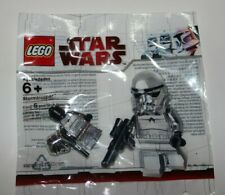 BRAND NEW SEALED Chrome Silver Stormtrooper Polybag sw097 LEGO Star Wars
