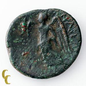 Münzen Altertum Münzen Flight Tracker 133 Bc Ancient Griechenland Phrygia Eumeneia Ae 22 X 19mm Münze Die Neueste Mode
