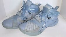 the best attitude b9ea9 ca11e 15 Nike Lebron IX Solder PRM Squadron Blue Basketball Shoes SZ 14 749490 444