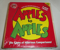 Apples To Apples Party Crate Board Game - Family Fun Wood Wooden Box Sealed
