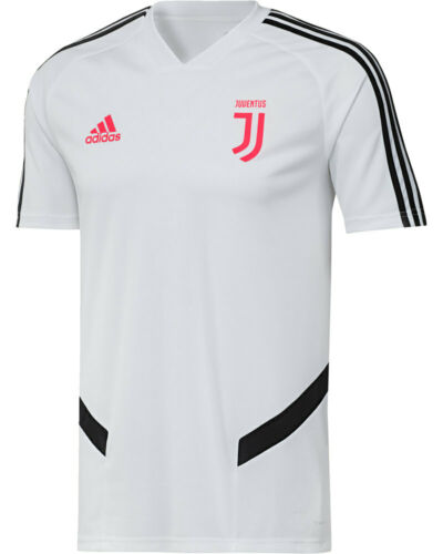 FC Juventus Adidas Training Shirt Top Men White 2019 20 Climacool