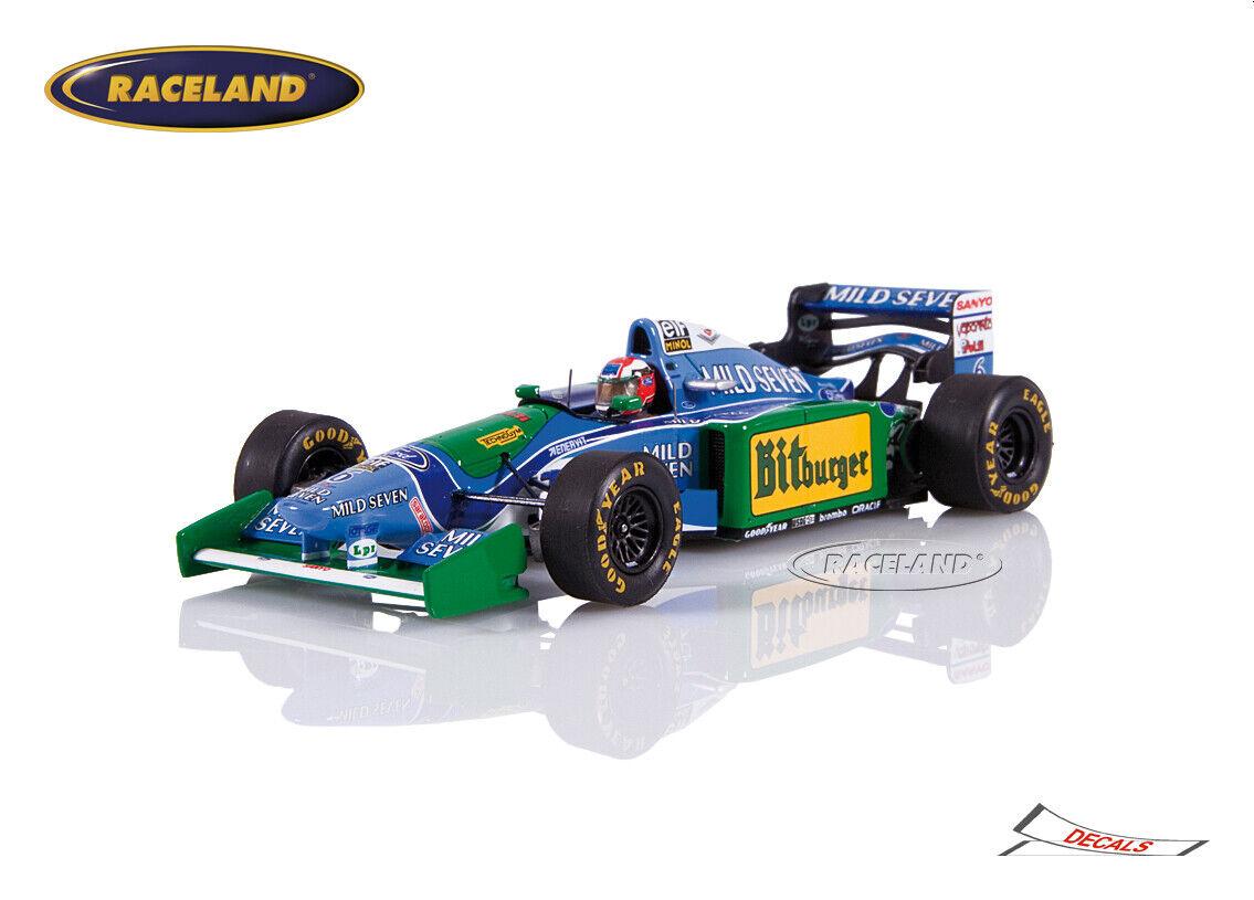 Benetton b194 FORD f1 GP Australie 1994 Johnny Herbert, SPARK 1 43, s4484