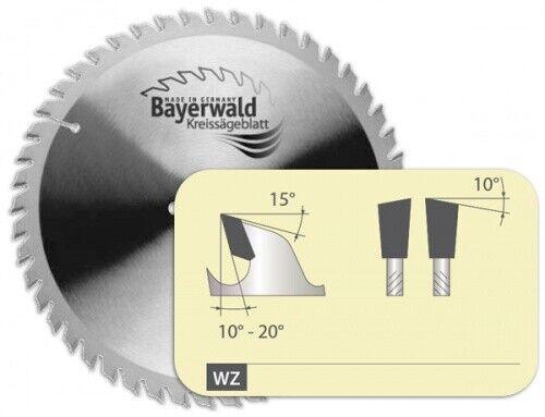 HM Kreissägeblatt - Ø 190 mm x 2,5 mm x 30 mm   Z=24 WZ