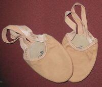 Capezio Pirouette Ii Lyrical Shoes Half Ballet H061 Canvas Nude Adult Ballet