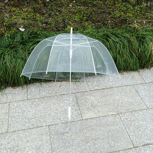 1x Willow Tree Birdcage Clear Translucent Dome Umbrella Wedding CPUK