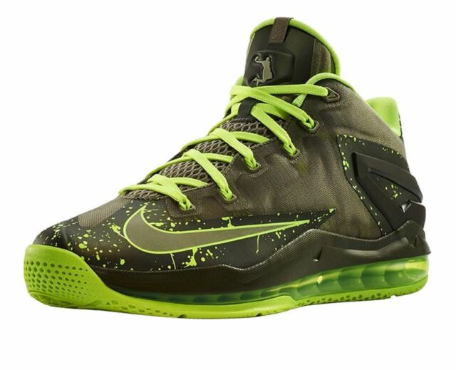 huge selection of 49b1d 2bb98 Nike Max Lebron XI Size 8 Low Dunkman Mens Basketball Shoes   642849 200