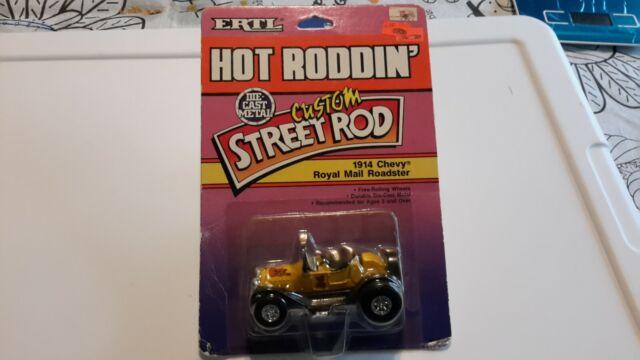 ERTL 1989 Hot Roddin' Custom Street Rod 1914 Chevy Royal Mail Roadster