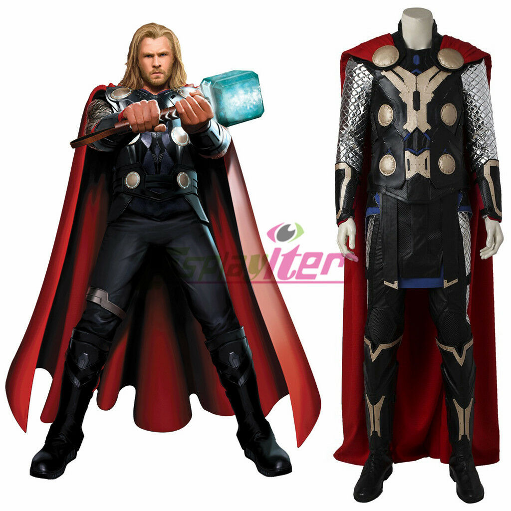 Avengers: Age of Ultron Thor Cosplay Costume