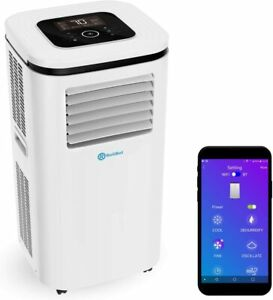 Rollicool 12000BTU Portable Air Conditioner/Dehumidifier/Fan Voice & App Control