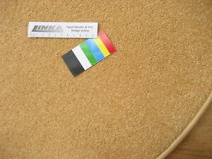 6629-guenstig-runder-Teppich-80-cm-Kettelteppich-rund-Gelb-Mais-Kraeuselvelours