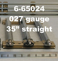 Lionel 027 Track Lot O27 Train 3 Rail Tubular Steel Long Straight 6-65024