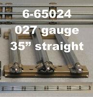Lionel 027 Track Lot O27 Train 3 Rail Tubular Steel Long Straight 6-65024