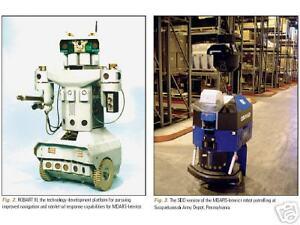 150 Military Robot Robots Uav Robotics Studies Book In Pdf On Cd Ebay