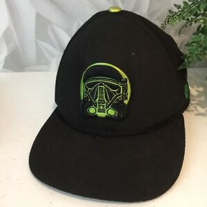 New Era Star Wars Rogue One Youth Hat Black Green OS 9Fifty  ca5882e5a432