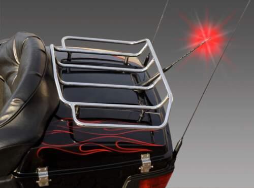LED Antenne beleuchtet 16V + Verstärker Kurzstabantenne Dachantenne Stabantenne