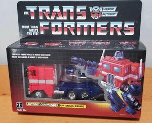 Transformers Vintage G1 Reissue, Walmart Exclusive Optimus Prime MISB