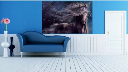 COLORFUL HORSE PAINTING ART Home decor High quality Canvas print choose size