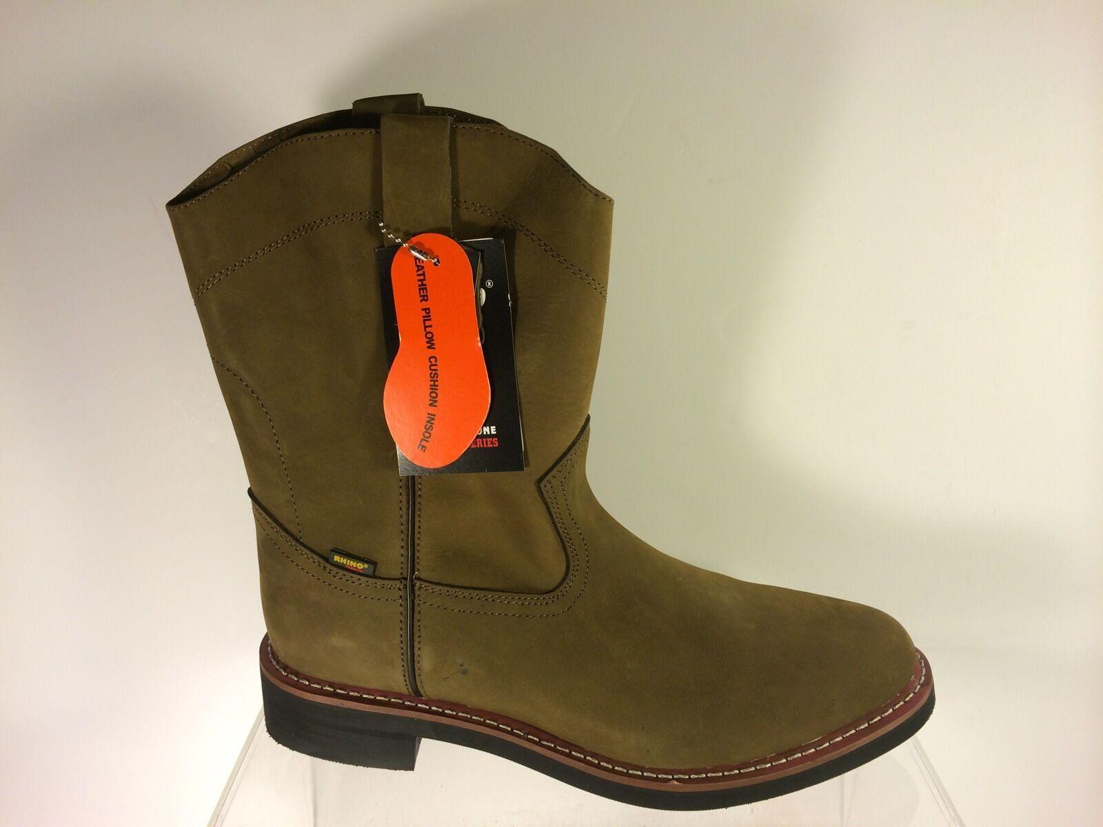 Serie de vaquero occidental Rhino Premium Wellington botas para hombre 12