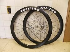 Psimet Carbon Fiber White Industries Tubular Road Wheelset Wheels Shimano Sram