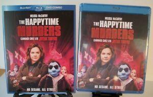 The-Happytime-Murders-Blu-ray-DVD-w-Slipcover-Brian-Henson-Melissa-McCarthy
