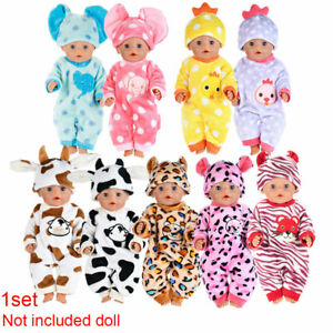 Hot-Fits-18-034-inch-Doll-Baby-Dolls-Handmade-fashion-Doll-Clothes-dress-Outfit