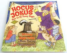 HOCUS JOKUS BOOK How to Do Funny MAGIC TRICKS 50 Easy Beginner Kid Magician NEW