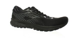 Brooks-Mens-Ghost-12-Black-Grey-Running-Shoes-Size-10-1486125