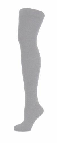 Ladies Over The Knee Plain Socks