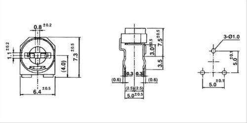 20PCS RM065 47K ohm 473 Trim Pot Trimmer Potentiometer