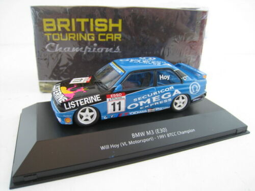 E30 Will Hoy  #11 BTCC 1991 Champion  Ixo//ATLAS  1:43  OVP  NEU BMW M3