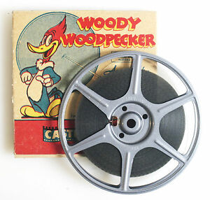 WOODY-WOODPECKER-REDWOOD-SAP-8MM-FILM-FROM-1951-IN-ORIGINAL-BOX