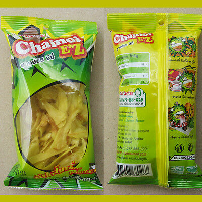Durian Chips Crispy and Delicious Thai Snack Food Fruit Durian Monthong Premium