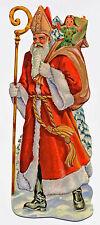 Lebkuchenbilder 100 Stück Sankt Nikolaus 11cm Glanzbilder geprägt Motiv von 1900