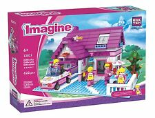 House Imagine BricTek Building Block Construction Toy Brick Girl