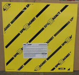 """LAB SAFETY SUPPY 31111 2/' X 2/' SPILL MAGNET DRAIR COVER 8AG44, 24/"""" X 24/"""""""