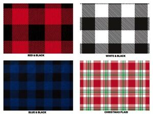 BUFFALO-PLAID-Gift-Tissue-Paper-Sheets-15-034-x-20-034-Choose-Print-amp-Pack-Amount