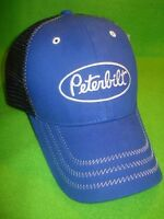 Peterbilt Hat Blue With Black Summer Mesh Back Free Shipping