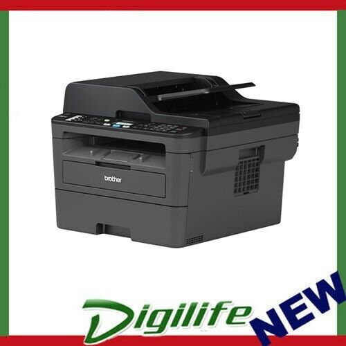 Brother MFC-L2710DW Wireless Mono Laser MultiFunction Printer Fax, Scan, Copier