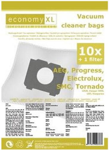 10 Staubsaugerbeutel Economy geeignet für AEG Electrolux Vampyr CE 4120EL+