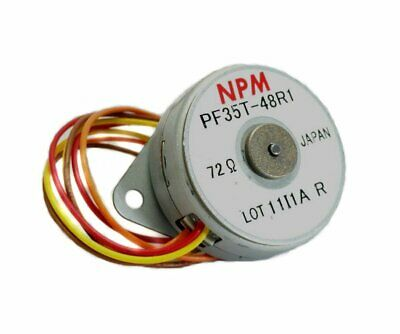 Low Profile Hybrid Stepper Motor 7.5deg step Size #NPM PF35T-48R1 28M118