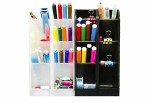 STYLIO Office Desk Organizer - Caddies for Office/ Teacher Supplies –