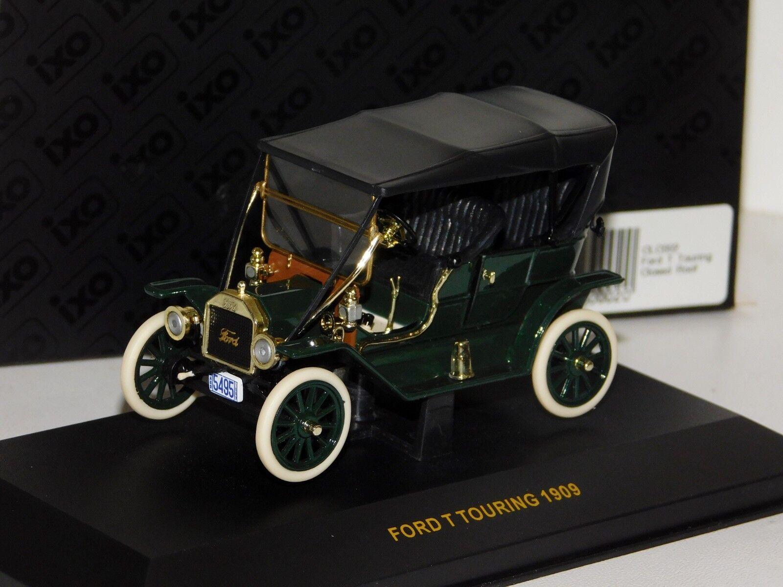Ford T TOURING 1909 Cerrado Techo IXO CLC002 1 43