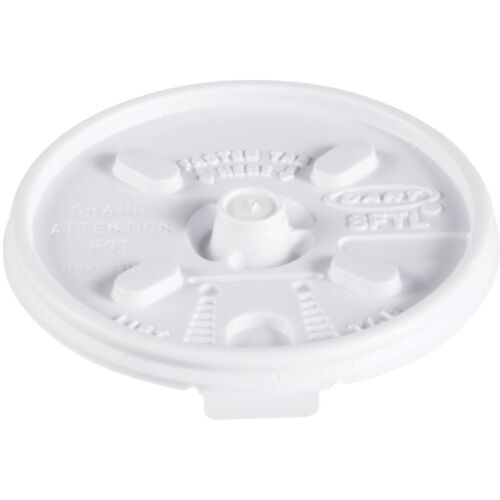 Dart Lids for Foam Cups and Containers 8ftl