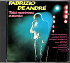 FABRIZIO DE ANDRE' tutti morimmo a stento CD copertina diversa RARO CDOR 8901