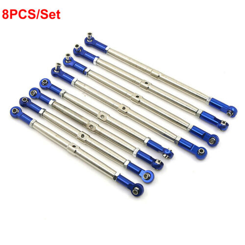 Alloy Steel Rod End Push Rods 5319X 5338R Set for 1//10 TRAXXAS E2.0 SUMMIT EREVO